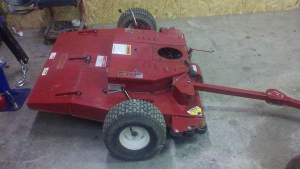 swisher pull behind mower - $275 (harrisburg il)