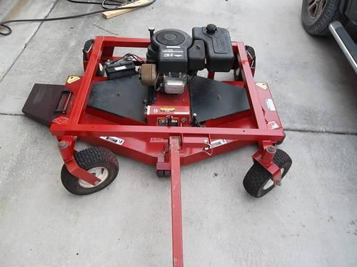 Offset Finish Mower : Swisher self powered quot pull type finish mower t for