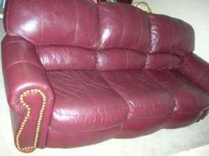 Sylish Living room furniture, couch, chairs - $100