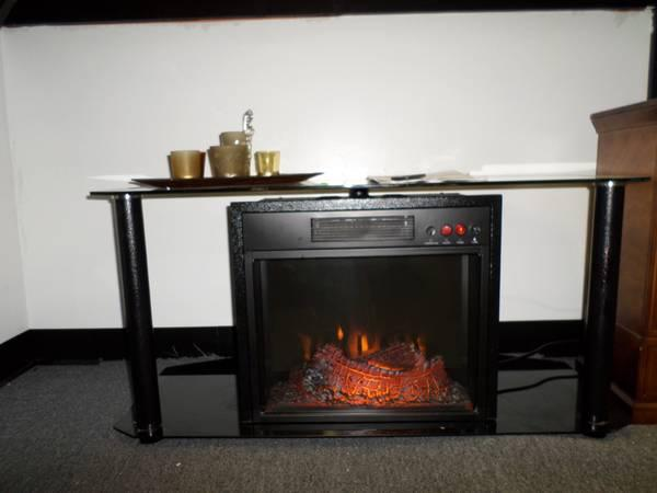 Sylvania Electric Fireplace Media Unit For Sale In