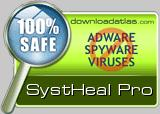 SystHeal  Pro v2.2- Anti Spyware | Registry Cleaner