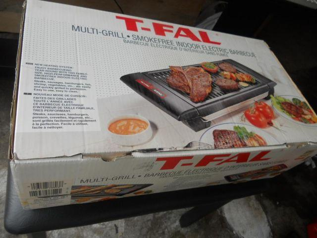 T-FAL Multigrill NEW in box