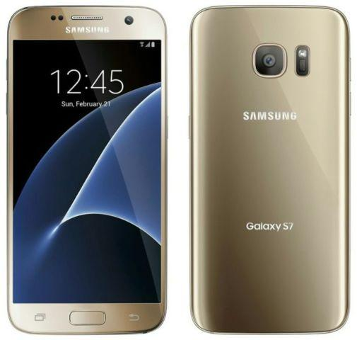 T-Mobile Samsung Galaxy S7 Gold Platinum