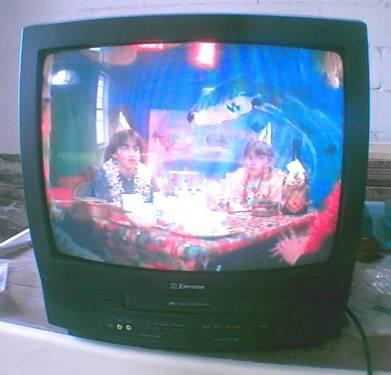 T.V./VCR combo for sale.