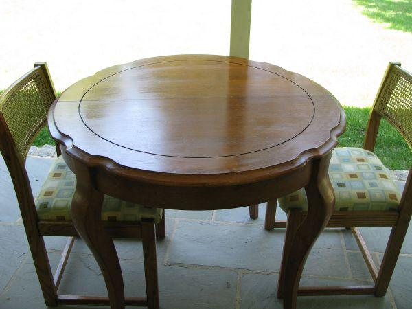 Table Two Chairs King Of Prussia For Sale In