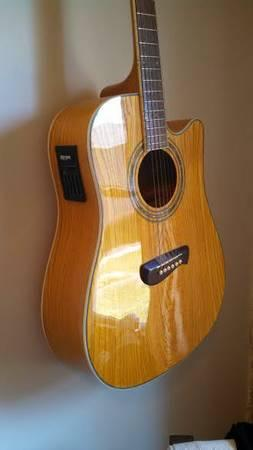 Tacoma Acoustic Guitar - $215