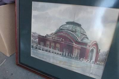 Tacoma Union Station Watercolor By Paul Norton For Sale In Tacoma Washington Classified