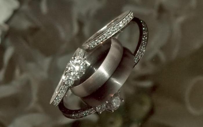 Tacori Engagement Ring and Scott Kay Wedding Band Orlando for Sale in Orl