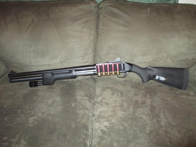 Tactical Upgraded Mossberg 500 12 Gauge