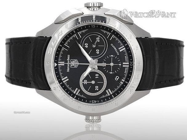 Tag heuer mercedes benz slr chronograph 45mm stainless for Mercedes benz watch for sale
