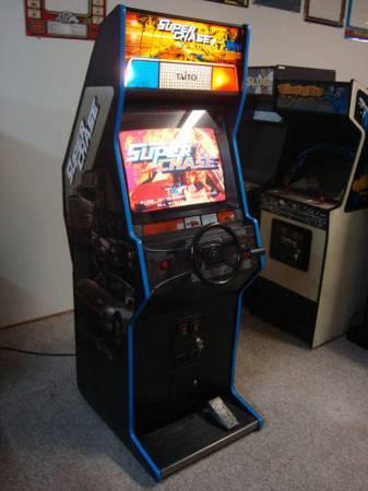 Taito's Super Chase Arcade Game - Super Cool Driving