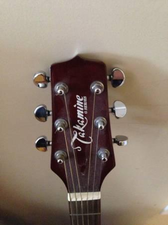 Takamine Acoustic Guitar G-240 series - $75
