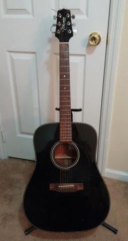 Takamine G Series Acoustic Guitar Black