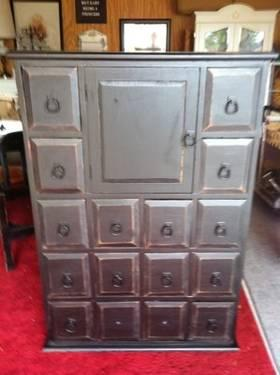 Tall Dark U0026 Handsome Apothecary Cabinet