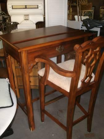 Tall Writing Desk U0026 Chair/ Drafting Table For Sale In Delta, Colorado