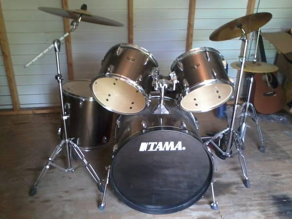 tama imperialstar 5pc drum kit - $375