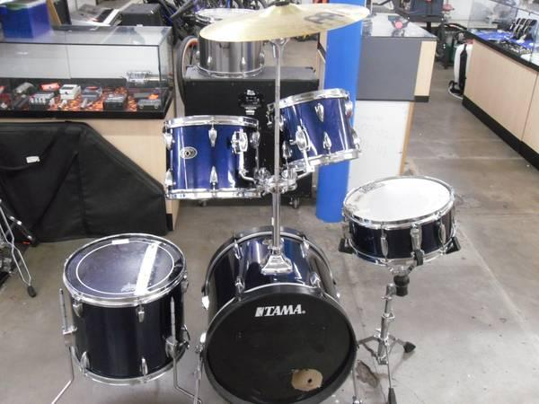 Tama Imperialstar midnght blue drums - $375