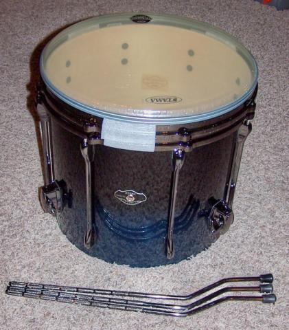 TAMA Superstar Hyper-drive 16x14 Floor TomMISSING T-RODS