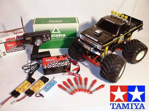 Tamiya Rc Clod Buster Monster Truck Used Great