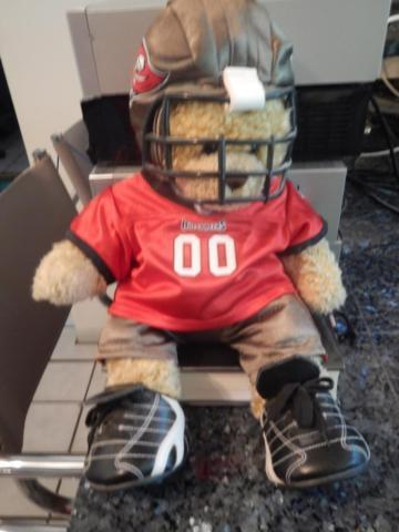 the latest d138c 4aa29 Tampa Bay Buccaneers Male Build-A-Bear Football Doll