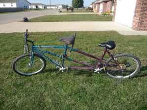 Tandem Bike - $150 (Lebanon Mo)