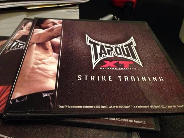 Tapout fitness DVDs - $40