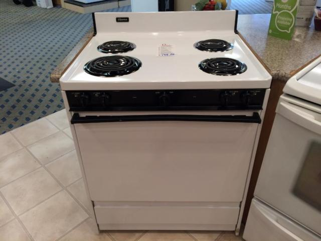 Tappan White Electric Range Stove Oven Used For Sale In