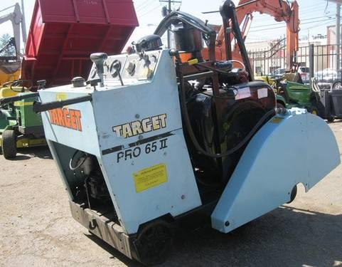 Target Pro65II36 151377 Walk Behind Concrete Road Saw