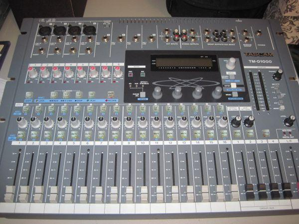 tascam tm d1000 digital recording mixer killeen ft hood for sale in killeen texas classified. Black Bedroom Furniture Sets. Home Design Ideas