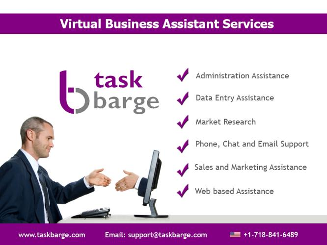 Taskbarge Virtual Business Assistant to improve your