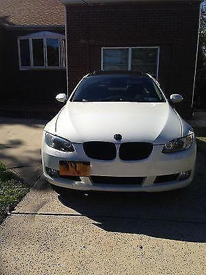 Tastefully Modded 2008 BMW 328xi COUPE white with RED