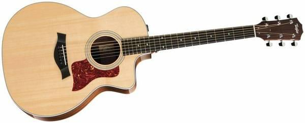 Taylor 214CE Cutaway Acoustic Electric - $695
