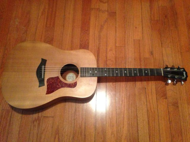 Taylor Big Baby Acoutic Guitar with accessories for sale
