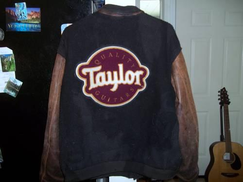 Taylor Guitars Leather Jacket RARE