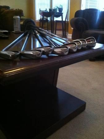 taylor made burner plus irons 4-AW - $150