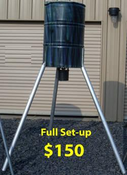 automatic stand corn sale feeders fill orig capacity for feeder and broadcast deer