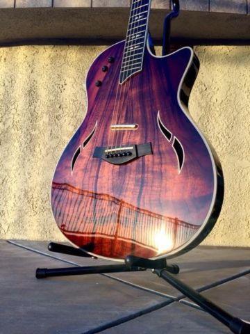 Taylor T5 Custom Koa Acoustic/Electric Guitar -