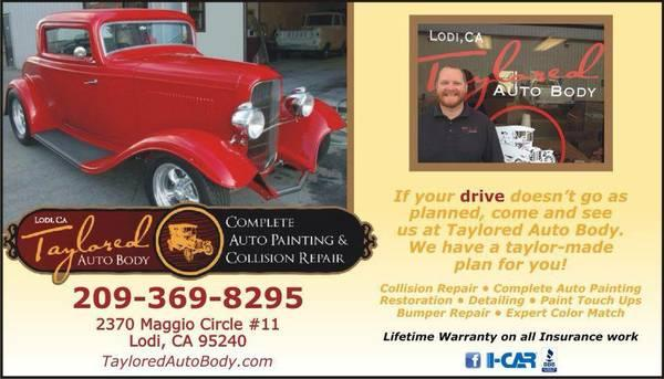 TAYLORED AUTO BODY - Complete Auto Painting, Collision