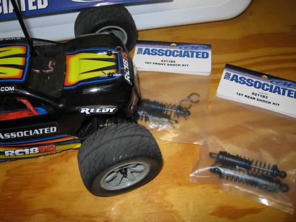 Team Associated RC18T2 Brushless RC buggy 4x4 - $125