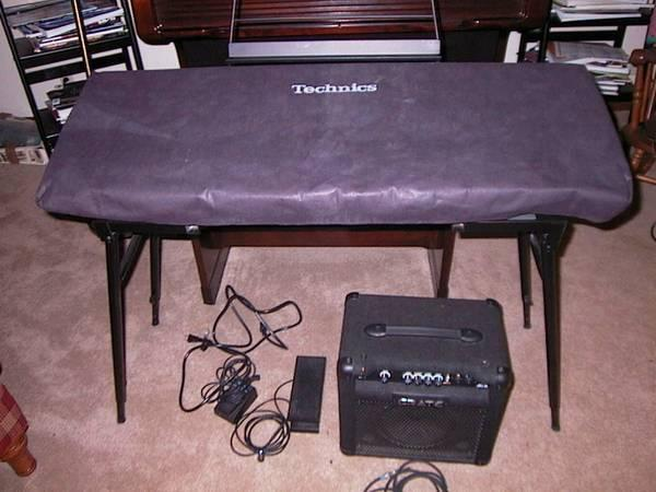 TECHNICS 1200 KEYBOARD WACCESSORIES - $375