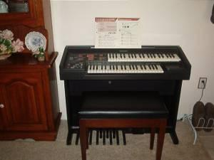 Technics Electric Organ - $200 Semmes