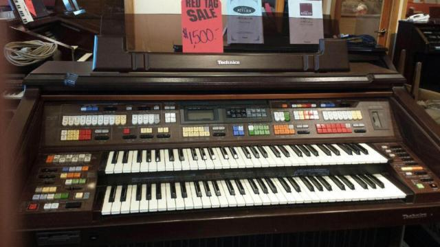 Technics F 5 Used Organ For Sale For Sale In Tacoma