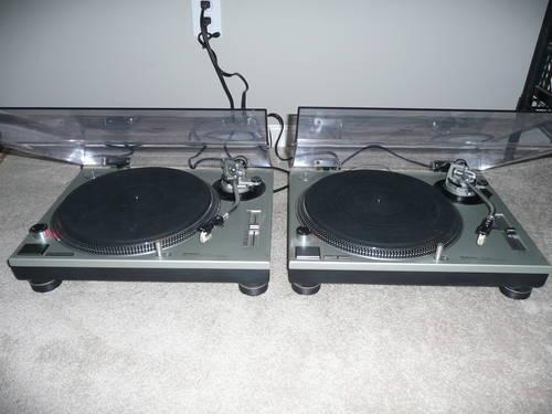 technics sl 1200mk2 turntables for sale in indianapolis indiana