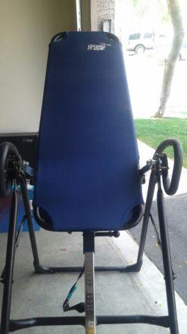 TEETER HANG UP inversion table like new...$100