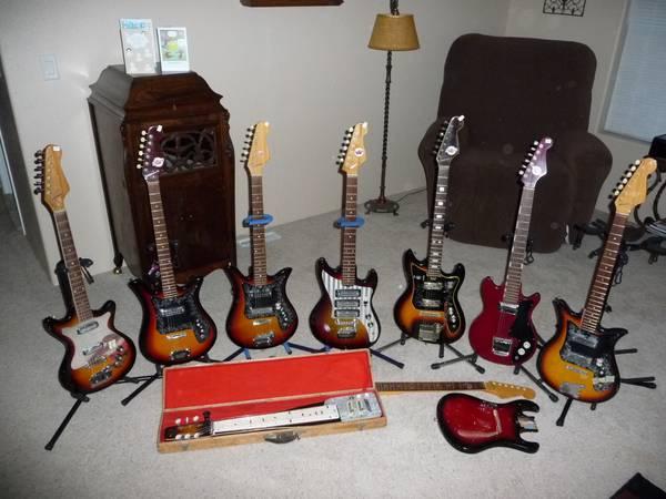 Teisco Guitar Selection For Sale In Mora Louisiana