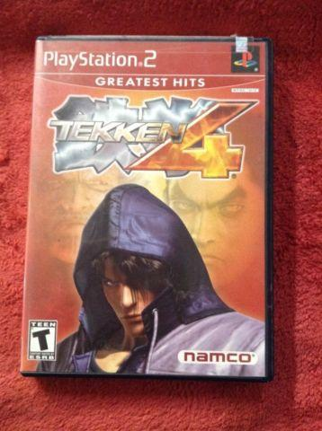 TEKKEN 4 NAMCO PLAYSTATION 2 PS2 VIDEO GAME