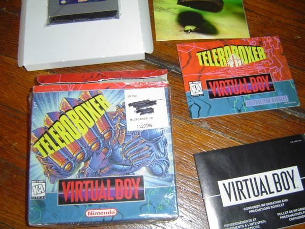Teleroboxer for Nintendo Virtual Boy - $25