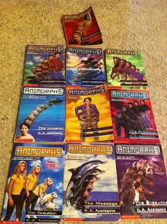 Ten Animorphs Books - $15
