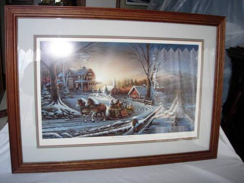 Terry Redlin Print For Sale In Clarion Pennsylvania