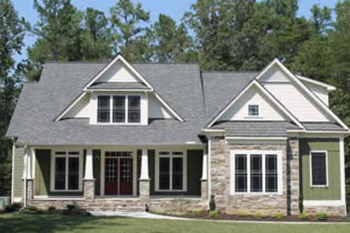 The kensington park by perkinson homes inc the highlands for Craftsman style homes for sale in northern virginia
